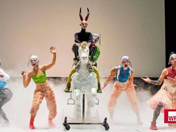 """Theater: """"Black Rider"""" in Gelsenkirchen eröffnet die Spielzeit"""
