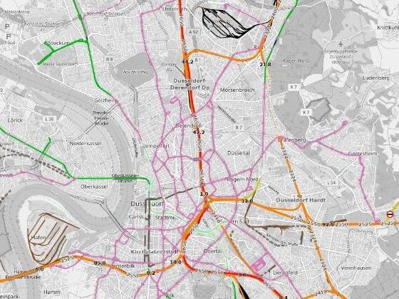 Open Railway Map ist ein Kartenparadies für Bahnfreunde