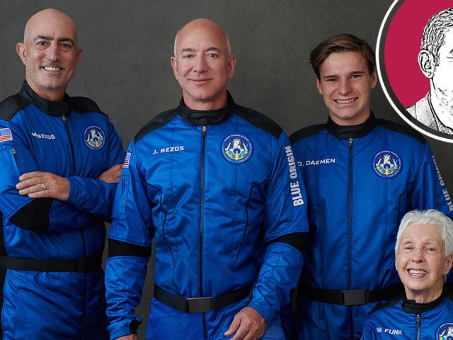 Hunde im Weltall – Was uns Bezos' Flug gelehrt hat