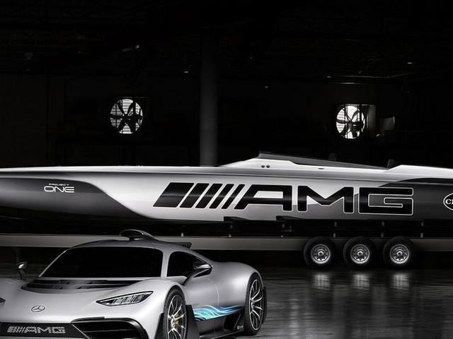 Hyperboot von Cigarette Racing: Inspiriert vom Mercedes-AMG Project One