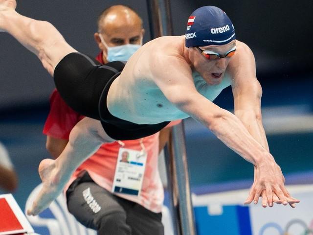 Mit Rekordzeit ins Finale: Auböck kämpft um eine Olympia-Medaille