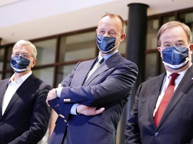 CDU: Armin Laschet, Friedrich Merz und Norbert Röttgen scheiterten mit Geheimverhandlungen