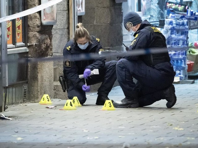 Bandenkriminalität in Schweden ufert aus