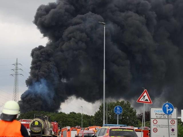 Explosion bei Currenta: Sorge um Ruß aus Leverkusen im Düsseldorfer Süden