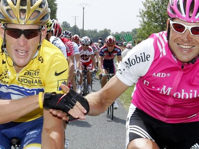 """Ex-Radprofis Armstrong und Ullrich treffen sich auf Mallorca: """"Liebe dich zutiefst"""""""