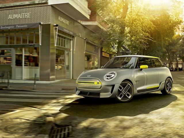 Mini Electric: Konzeptauto auf der IAA 2017 zu sehen