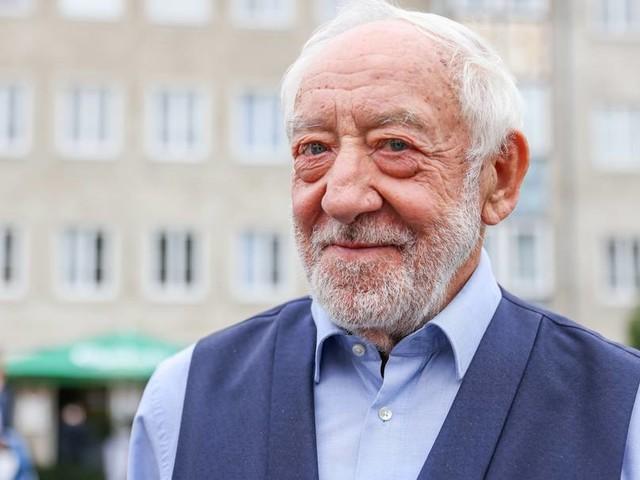 Dieter Hallervorden singt Silvester am Brandenburger Tor
