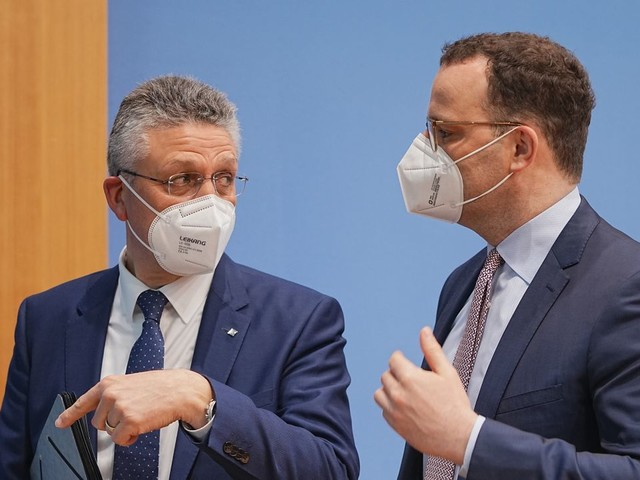 Corona-Pandemie: Jens Spahn und RKI-Chef Lothar Wieler zur aktuellen Lage - Livestream