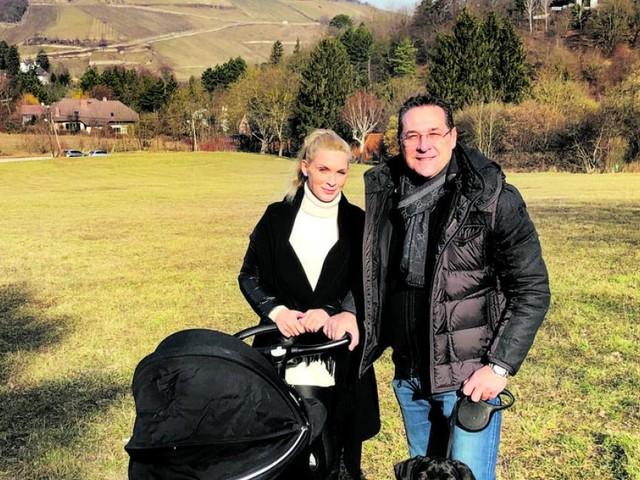"""Strache: """"Papa-Monat hat mich entschleunigt"""""""