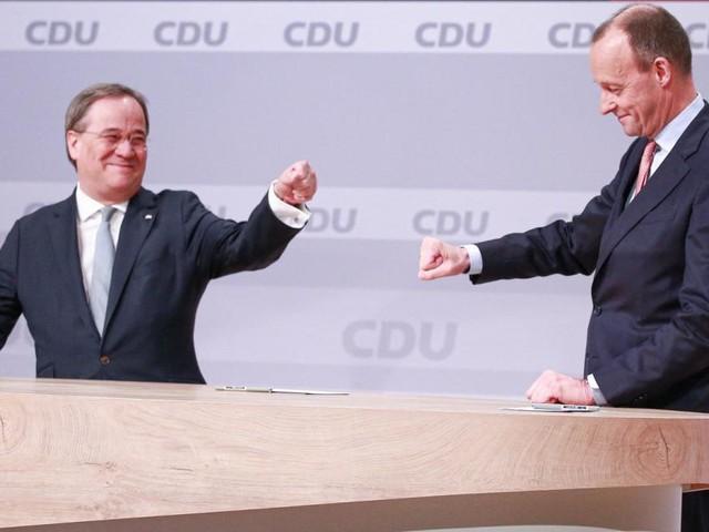 Wahlkampf in Deutschland: Warum Armin Laschet jetzt auf Friedrich Merz setzt