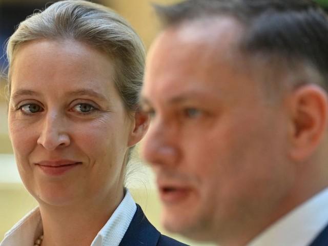 AFD zieht mit Weidel und Chrupalla in den deutschen Wahlkampf