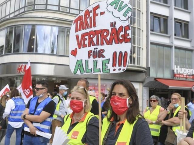 Verdi ruft zu weiterem Warnstreik im Großhandel auf
