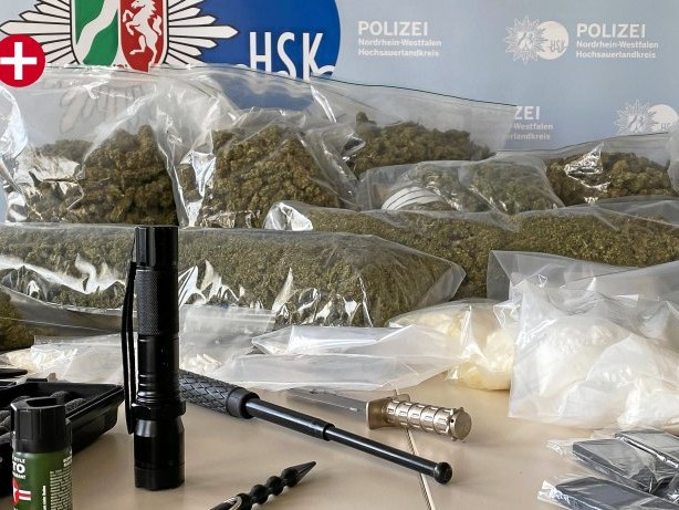 Kriminalität: HSK: Diese Droge ist laut der Polizei auf dem Vormarsch