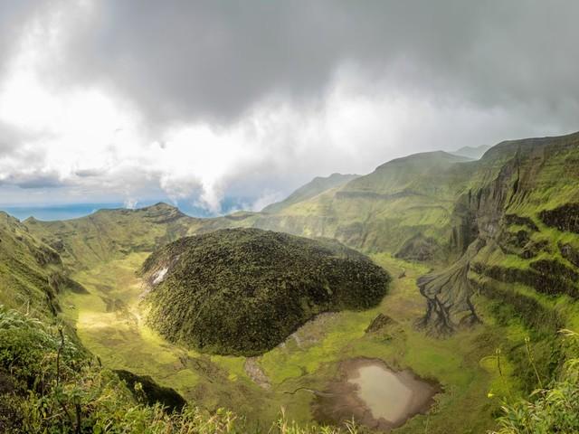 St. Vincent: Vulkan La Soufrière auf Karibikinsel droht auszubrechen