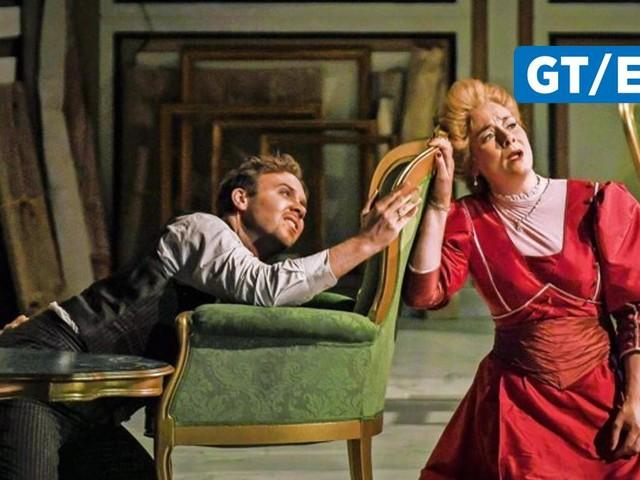 """Premiere der Oper """"Rodelinda"""" im Deutschen Theater"""