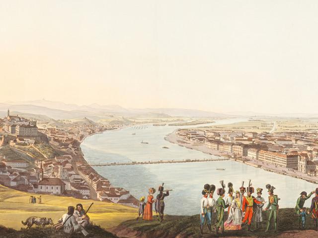 Die Donau in der Österreichischen Nationalbibliothek erkunden