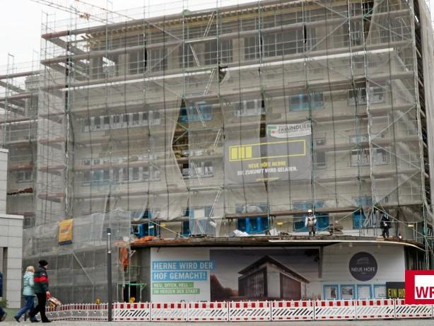 Innenstadt: Herne: Im alten Karstadt-Gebäude startet nun der Innenausbau
