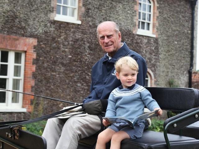 Ein Monat nach Prinz Philips Beerdigung: Williams Kinder vermissen ihren Uropa