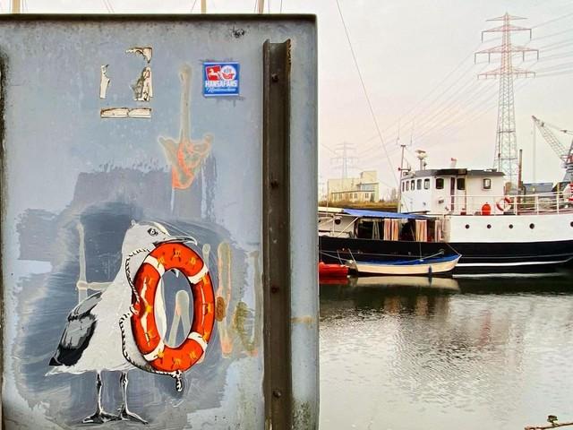 """Alle Museen geschlossen? Auf zur """"Street Art Bildersuche"""" im Harburger Binnenhafen"""