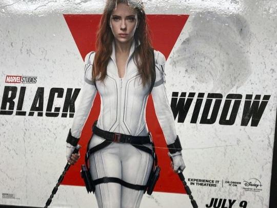 """Black Widow"" - Scarlett Johansson verklagt Disney"