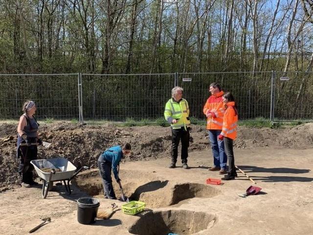 Grabungen bei S4: Siedlungsreste aus der Jungsteinzeit entdeckt