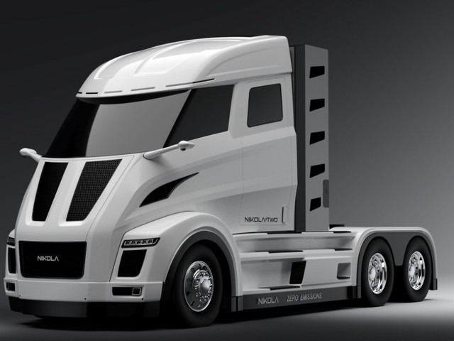 Nikola Motors kündigt Wasserstoff-LKW an