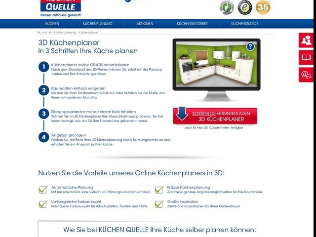 Küche online planen mit 3D Küchenplaner von Küchen-Quelle ...