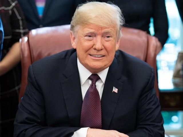Trump behauptete, zu Silvester zu arbeiten: Hat er gelogen?