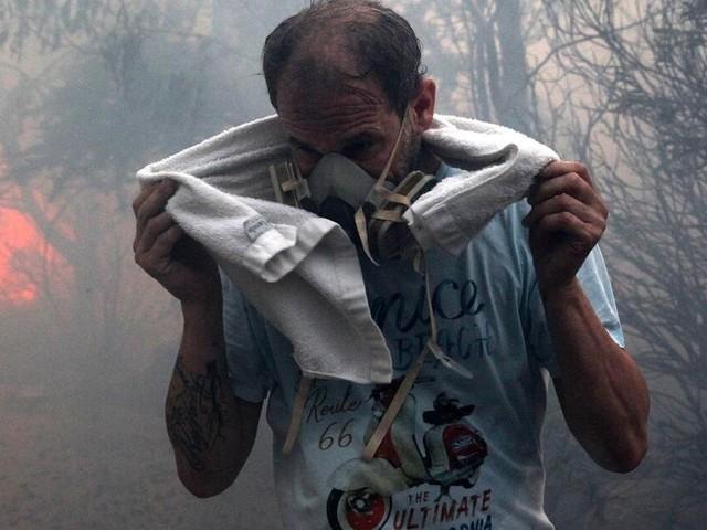"""Ein """"Albtraumbrand"""", die """"Hölle"""": Feuer wüten in Südeuropa und Russland"""