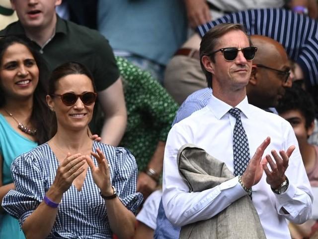Pippa in Wimbledon: Erster (Strahle-)Auftritt nach Geburt