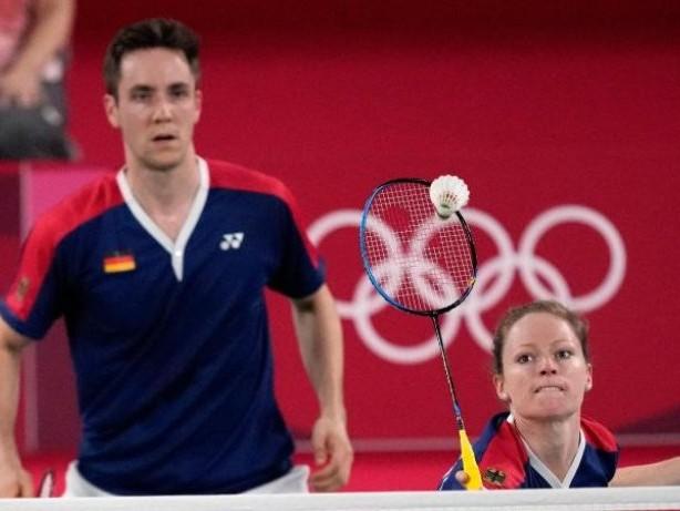 Olympia: Deutsches Badminton-Mixed überrascht in Tokio