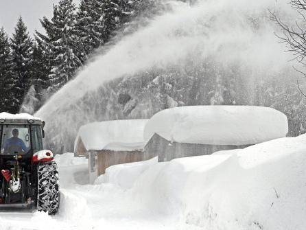 Schnee ohne Ende: 350 Menschen sitzen bei Berchtesgaden fest