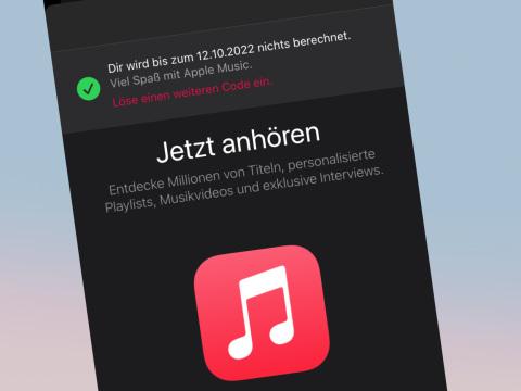 Apple Music kostenlos: Mit diesem Trick streamen Sie ein Jahr gratis