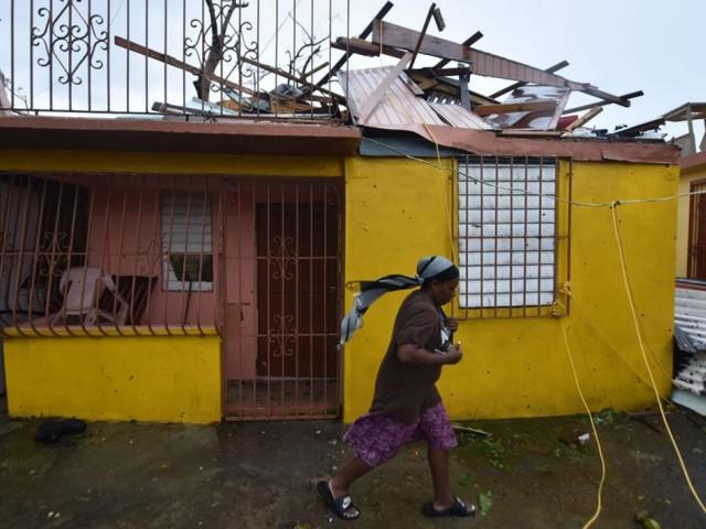 Schwere Schäden und kompletter Stromausfall auf Puerto Rico