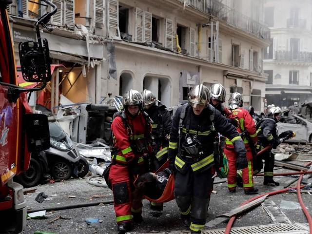 Verletzte nach Explosion in Bäckerei im Zentrum von Paris