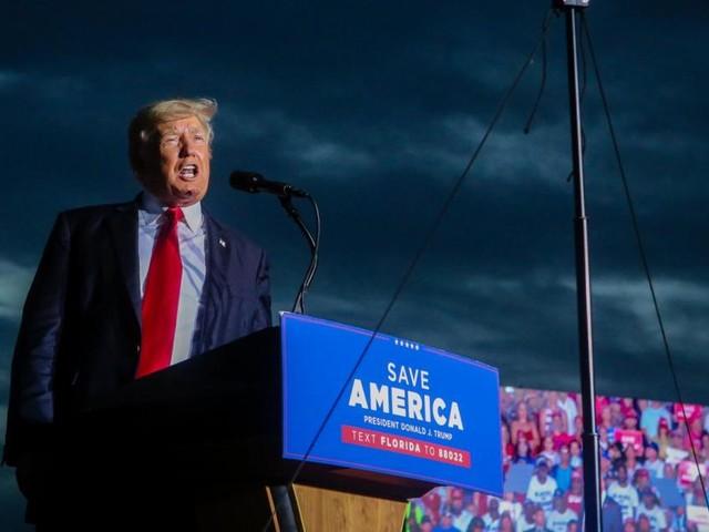 Trump holte vor Tausenden Anhängern gegen New Yorker Justiz aus