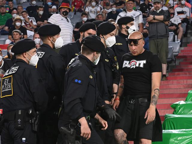 EM 2021: Blocksturm verhindert! Polizei und Ordner stoppen ungarische Hools