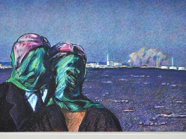 Max Peintner: Düstere Visionen in bunten Farben