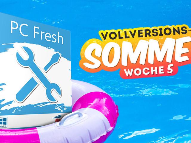 Vollversions-Sommer: PC Fresh 2019 gratis