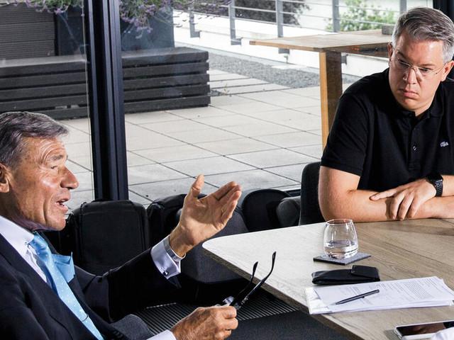 """Frank Thelen und Wolfgang Grupp im Streitgespräch: """"Echte Unternehmer essen trockenes Brot, wenn die Firma leidet"""""""