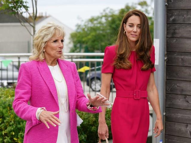 First Lady Jill Biden: Erstes Treffen mit Herzogin Kate