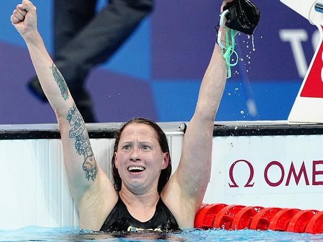 Schwimmen: Sarah Köhler schwimmt über 1.500 m zu Olympia-Bronze