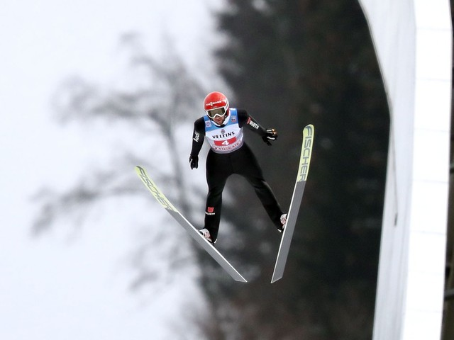 Vierschanzentournee in Garmisch-Partenkirchen: Markus Eisenbichler Zweiter beim Neujahrsspringen