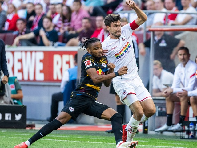1. FC Köln gegen RB Leipzig - wilde Partie ohne Sieger