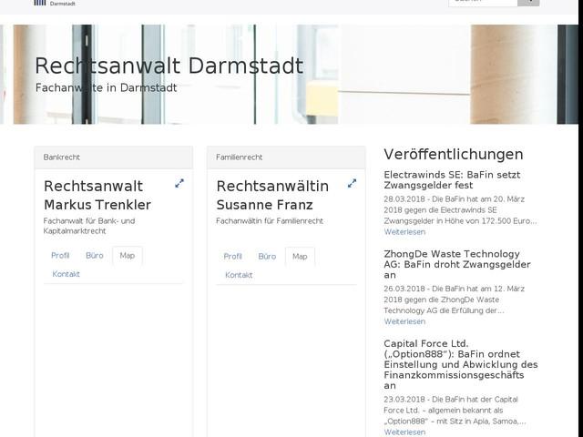 Fachanwälte in Darmstadt: Rechtsanwalt Darmstadt