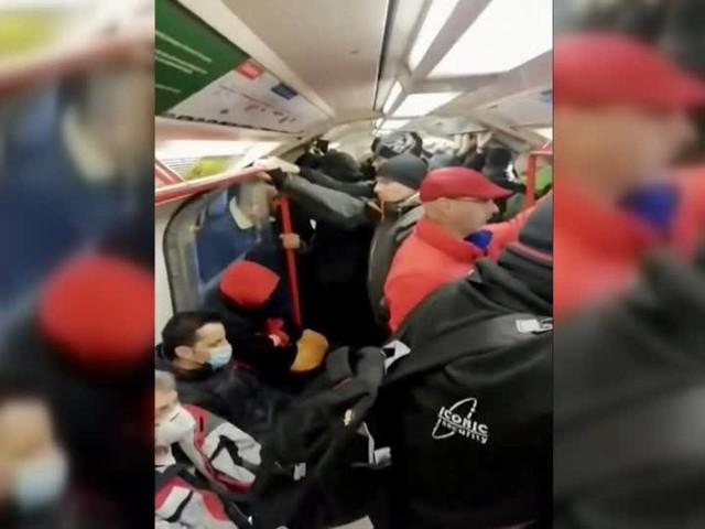 Video: Überfüllte U-Bahn trotz Corona-Virus