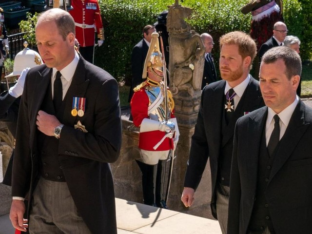 Prinz Philips Beerdigung: Darum verließen William, Kate und Harry Kapelle gemeinsam