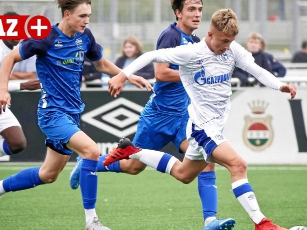 Jugendfußball: U16 des FC Schalke lässt bei Preußen Münster Punkte liegen