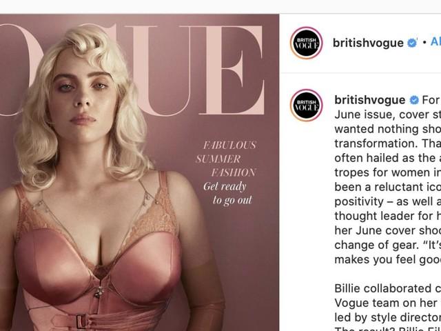 """Billie Eilish bricht mit """"Vogue""""-Cover Instagram-Rekord: Hier das Bild"""