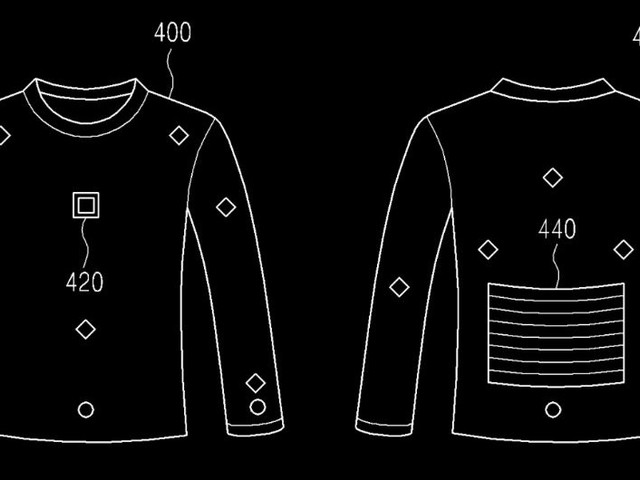 Samsung: Patent auf Fitness-Tracker-Hemd mit Eigenenergieversorgung